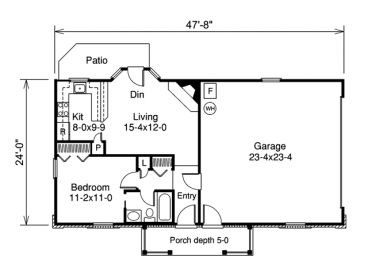 Plan 10 135 just garage plans for Garage apartment plans 1 story