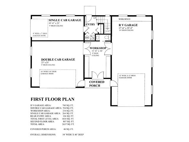 Rv garage on pinterest rv garage garage and garage addition for Rv garage plans with living space
