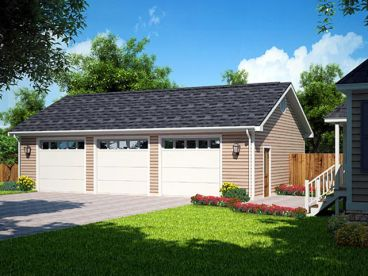3 car garage plans 3 car garages just garage plans Triple car garage house plans