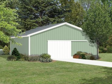 Open Sided Pole Barn Plans http://justgarageplans.com/68/1/house-plans/pole-buildings.php