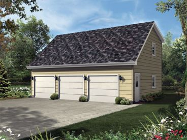 Plan 10 163 just garage plans for Saltbox house plans with garage