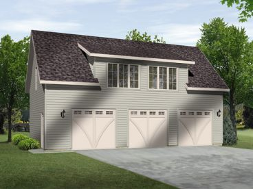 Garage Plans With Lofts And Storage Just Garage Plans