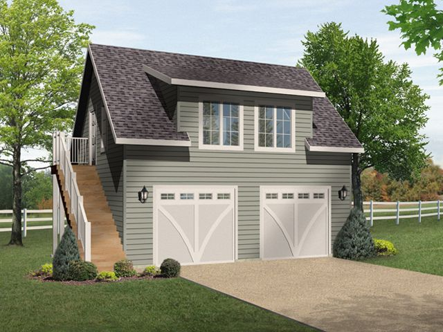 Plan 1011 just garage plans for House plans with loft over garage