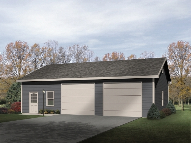 Plan 9913 just garage plans for Large garage plans