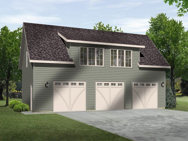 Trying to decide between a separate house garage or a for Separate garage
