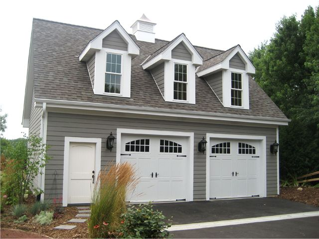 Plan 2209 just garage plans for Two car garage doors