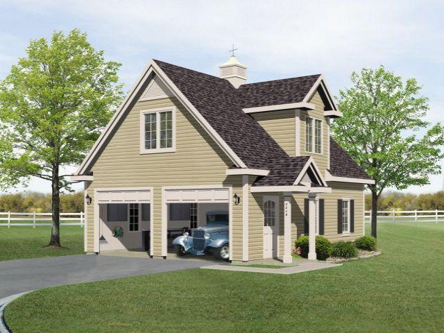 plan 2218 just garage plans