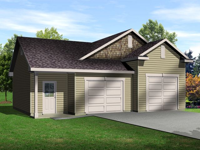 Plan 1111 just garage plans for Oversized garage plans