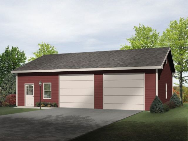 Plan 2739 just garage plans for Large garage plans with living space