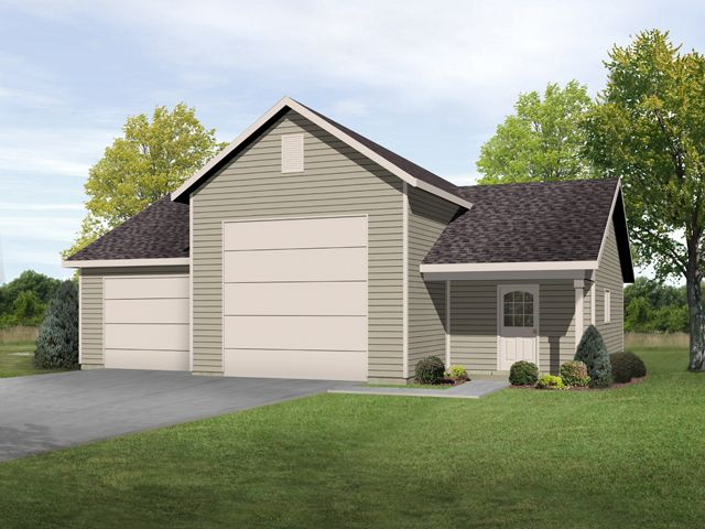 Plan 2802 just garage plans for Large garage plans with living space