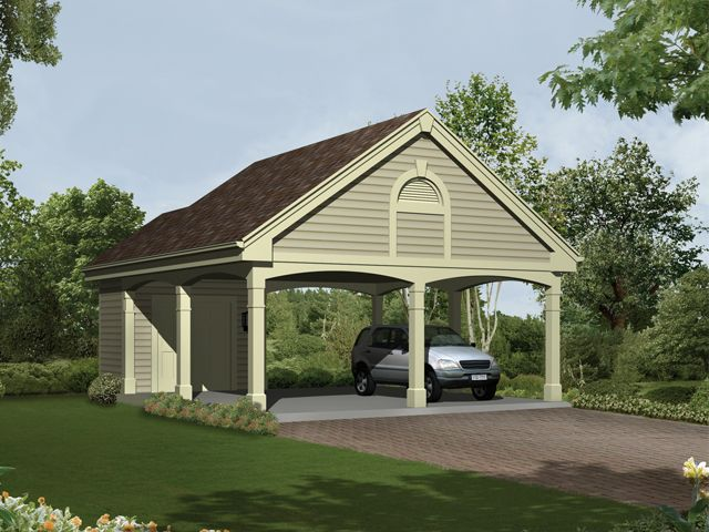 Diy garage plans with rv carport plans free for Carport garage designs